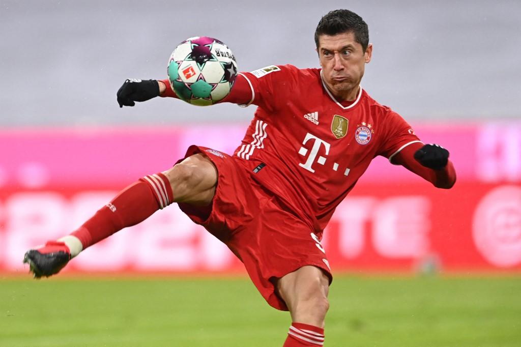 Lewandowski, principal nome do ataque do Bayern de Munique