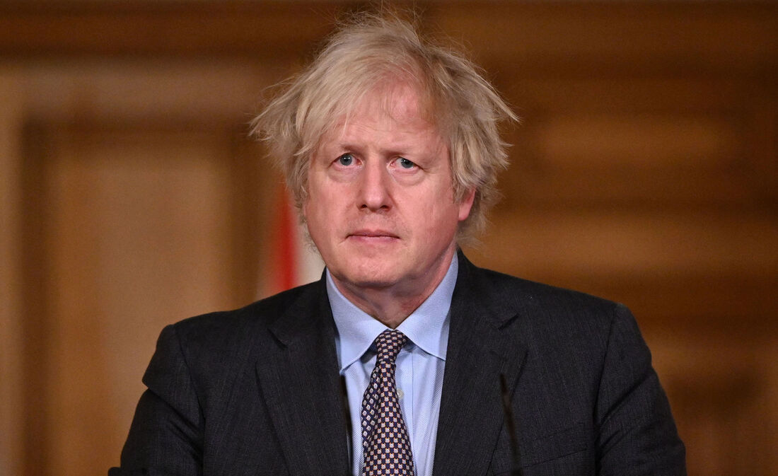O premiê britânico, Boris Johnson