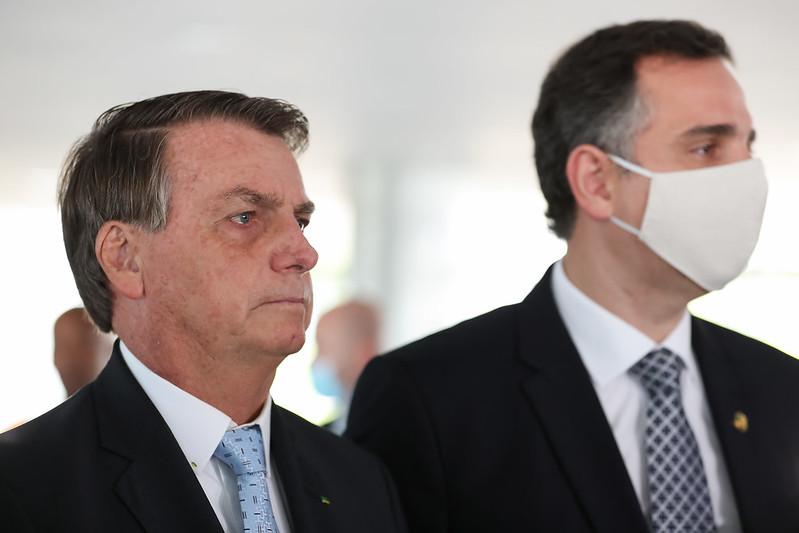 Presidente da República, Jair Bolsonaro e Arthur Lira, Presidente da Câmara dos Deputados
