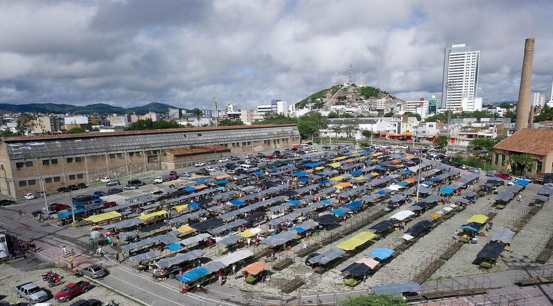 Feira do bairro do Salgado, em Caruaru