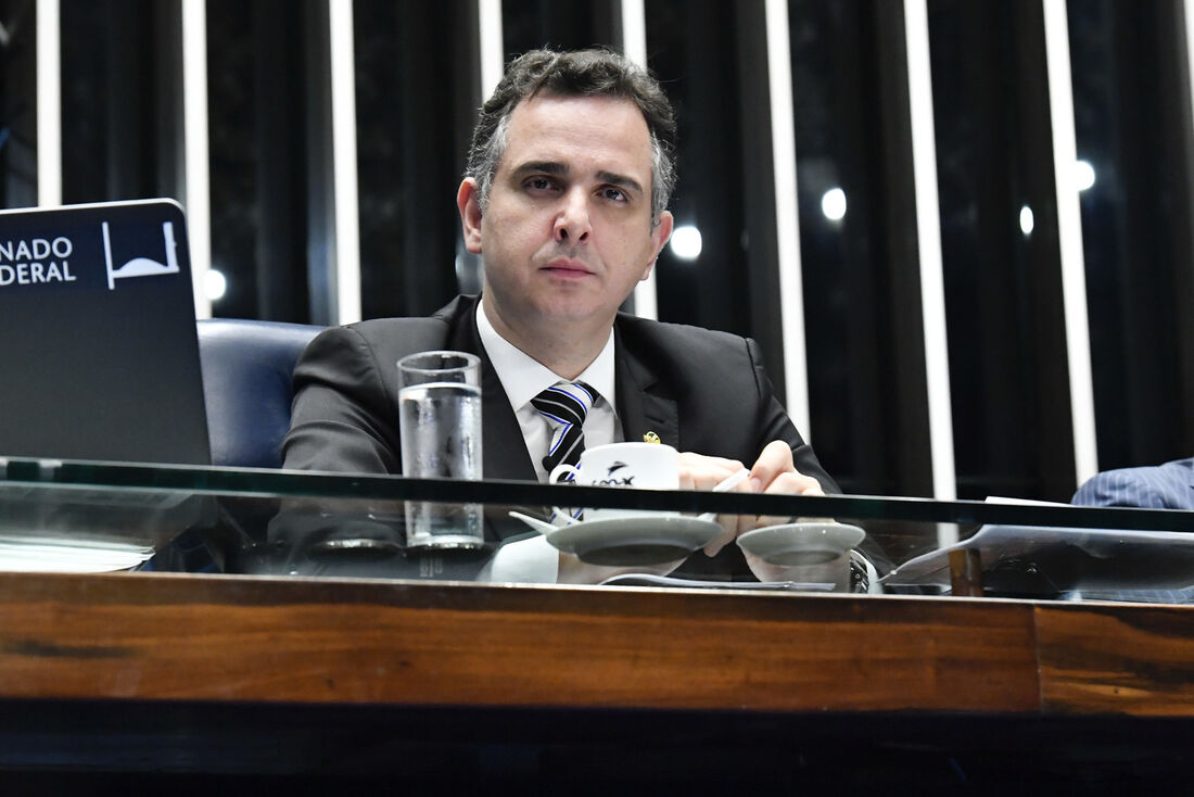 Presidente do Senado Federal, Rodrigo Pacheco (DEM-MG)