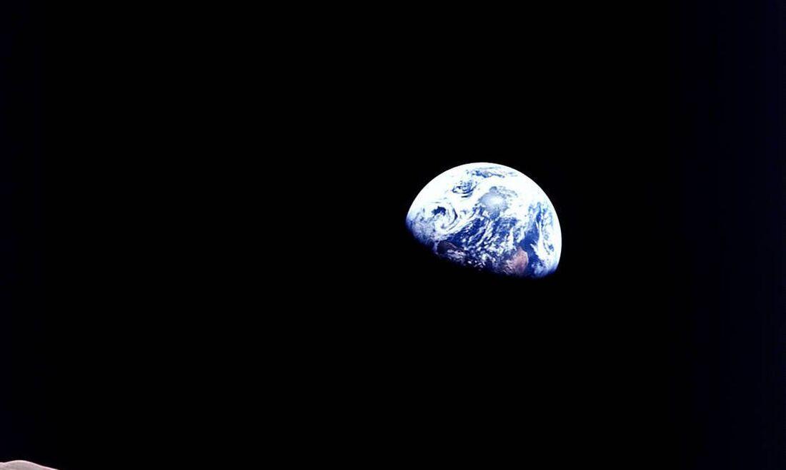 Terra vista pelo espaço
