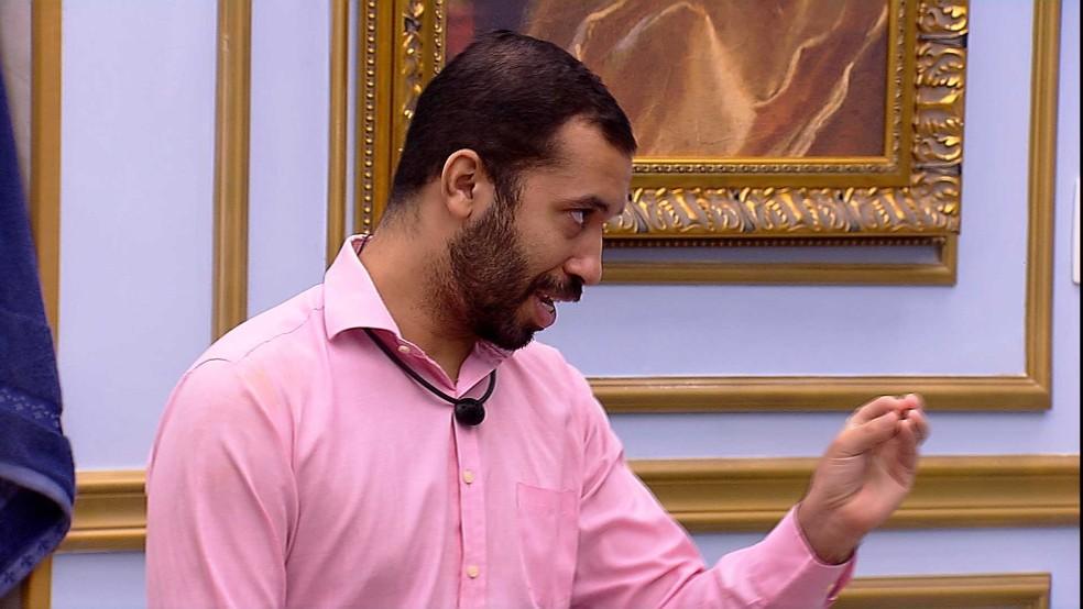 Gilberto Nogueira, do BBB 21
