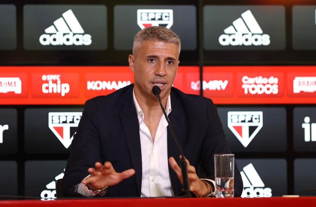 Crespo, ex-técnico do São Paulo