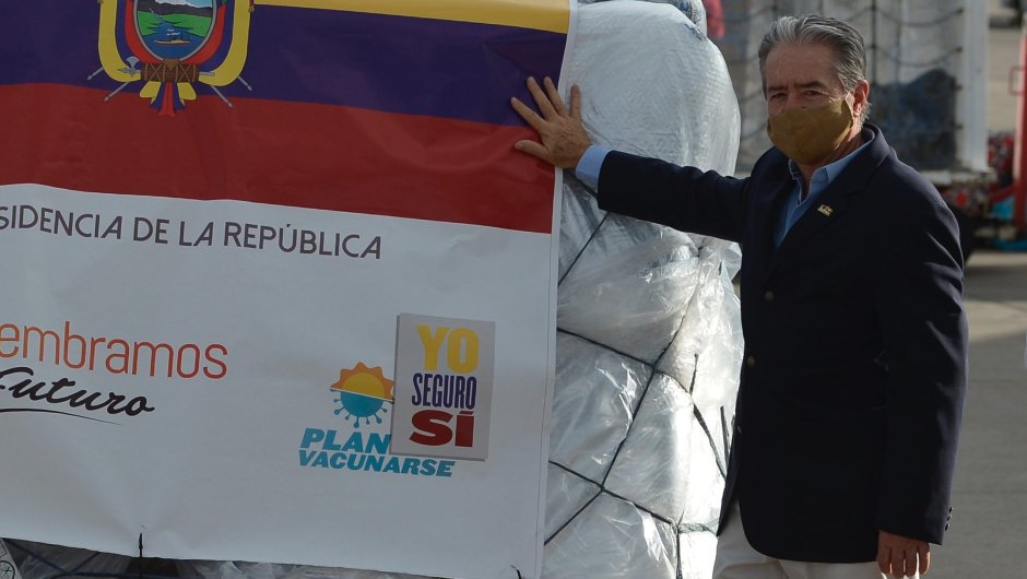 Juan Carlos Zevallos, ex-ministro da Saúde do Equador