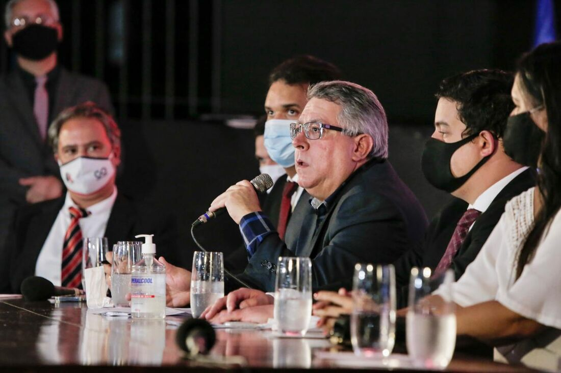 Joaquim Bezerra, presidente do Santa Cruz