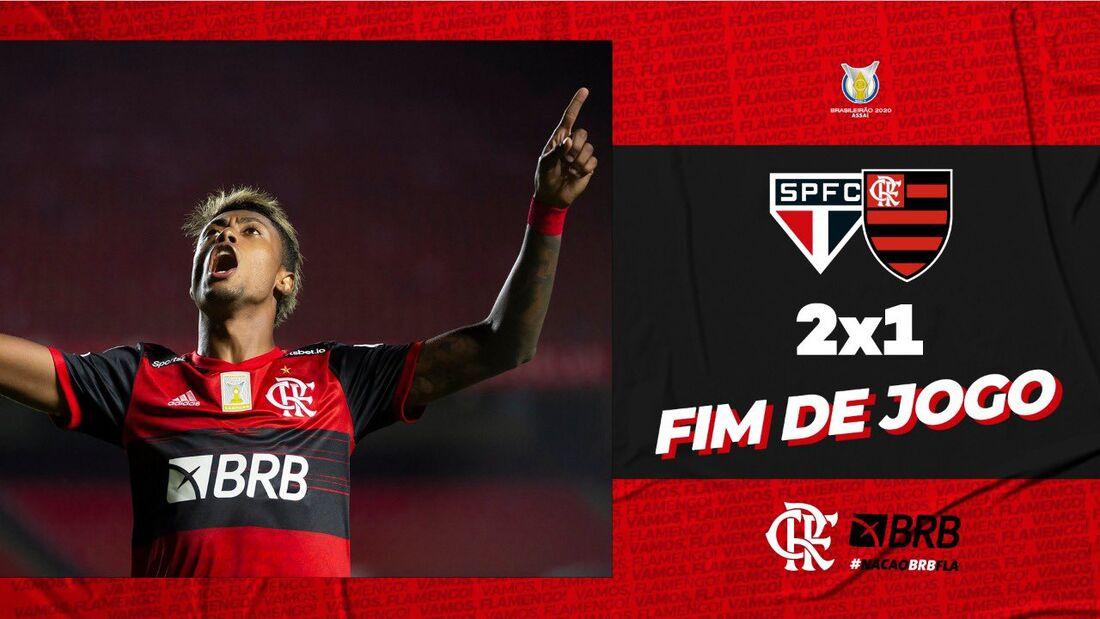 Flamengo é campeão brasileiro de 2020
