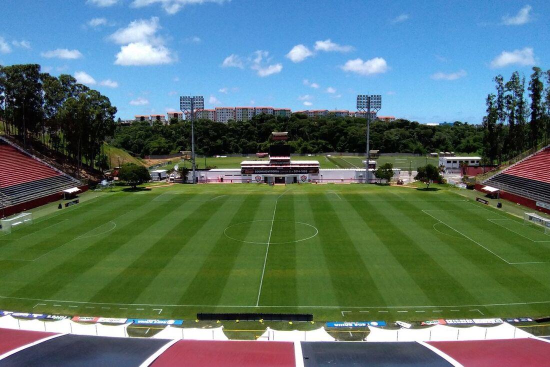 Estádio Manoel Barradas, o Barradão, seria palco da estreia do Santa no Nordestão 2021