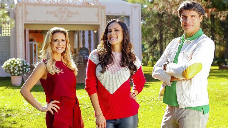 Beca, Nadja e Olivieira comandam o programa