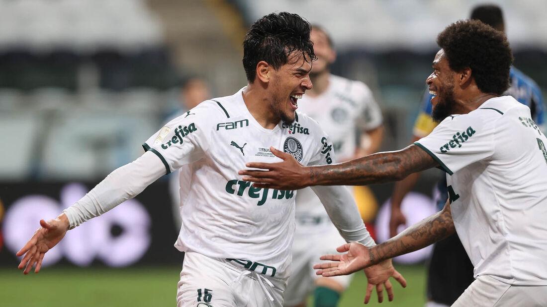 Palmeiras x Grêmio, na final da Copa do Brasil