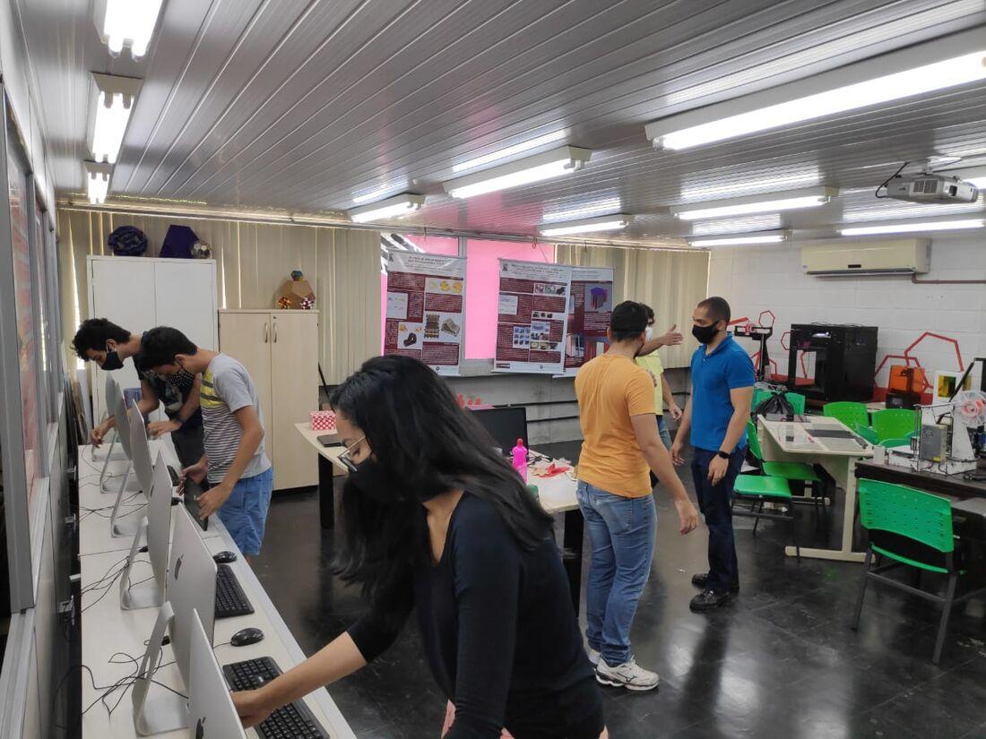 Produção de EPIs na Universidade Federal de Pernambuco (UFPE)