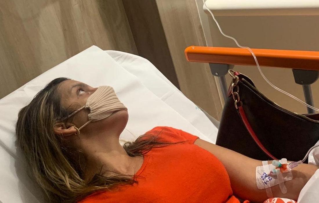 Empresária Flávia Andrade está internada no Hospital Português