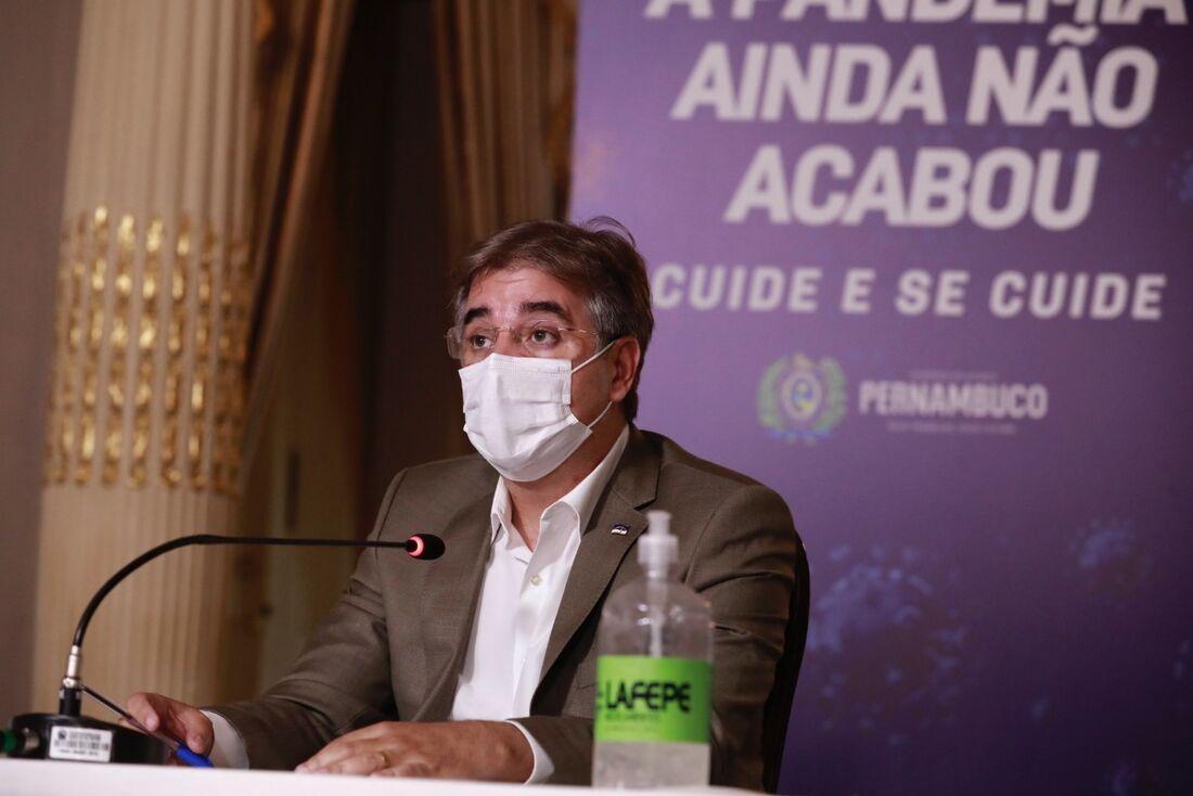 Secretário estadual de Educação, Marcelo Barros