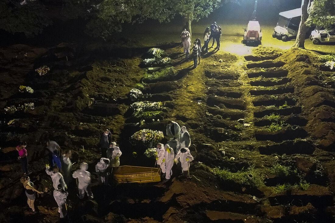 Mortes por Covid-19 no Brasil