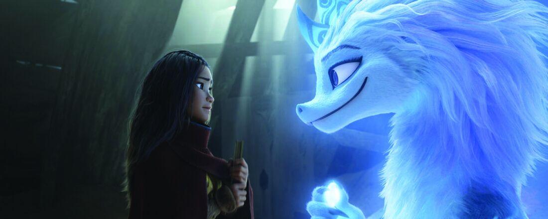 Cena da animação 'Raya e o Último Dragão', da Disney