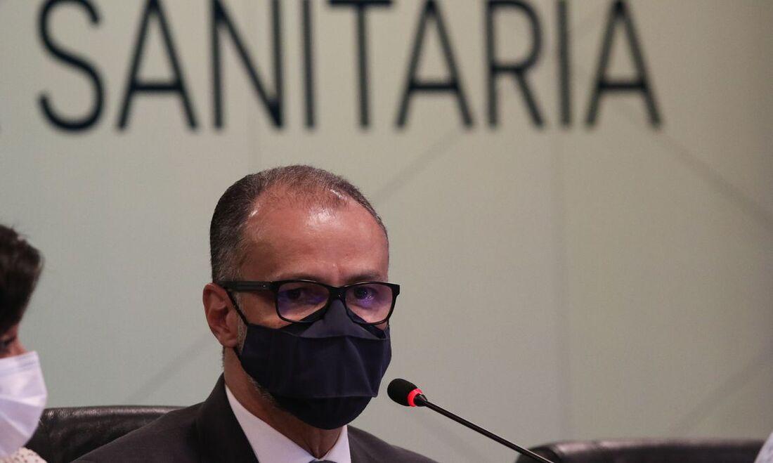 Presidente da Agência Nacional de Vigilância Sanitária (Anvisa), Antônio Barra Torres