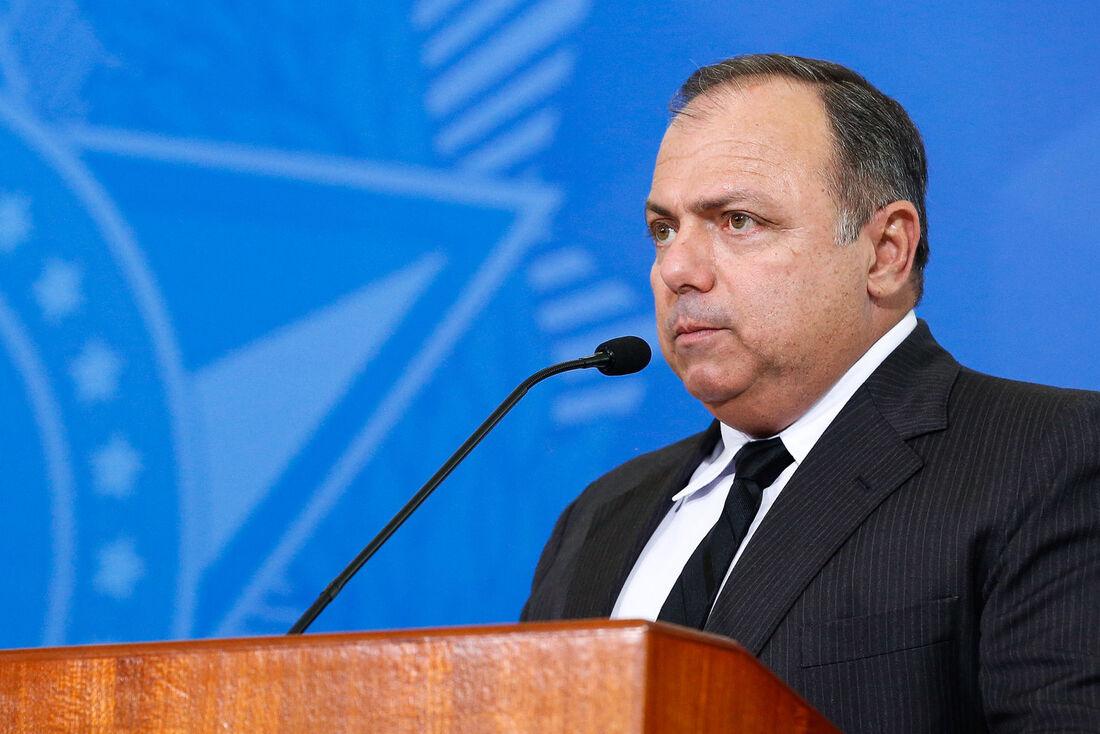 Ex-ministro da Saúde, Eduardo Pazuello.