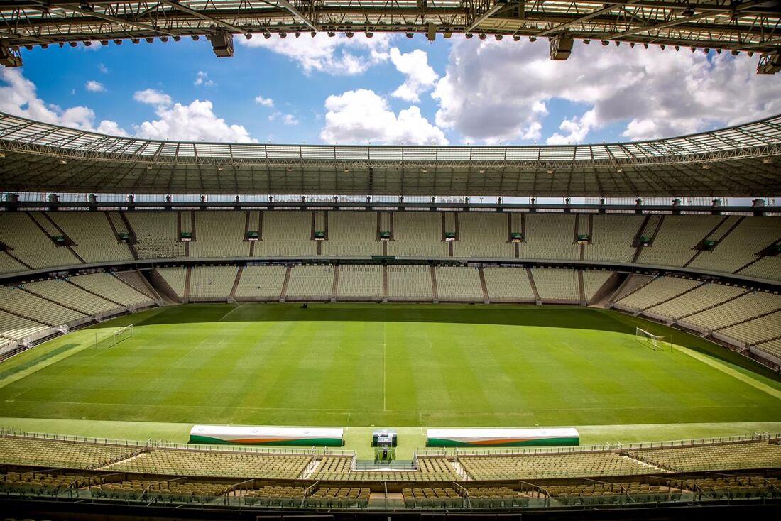 Partida será disputada no Castelão, em Fortaleza