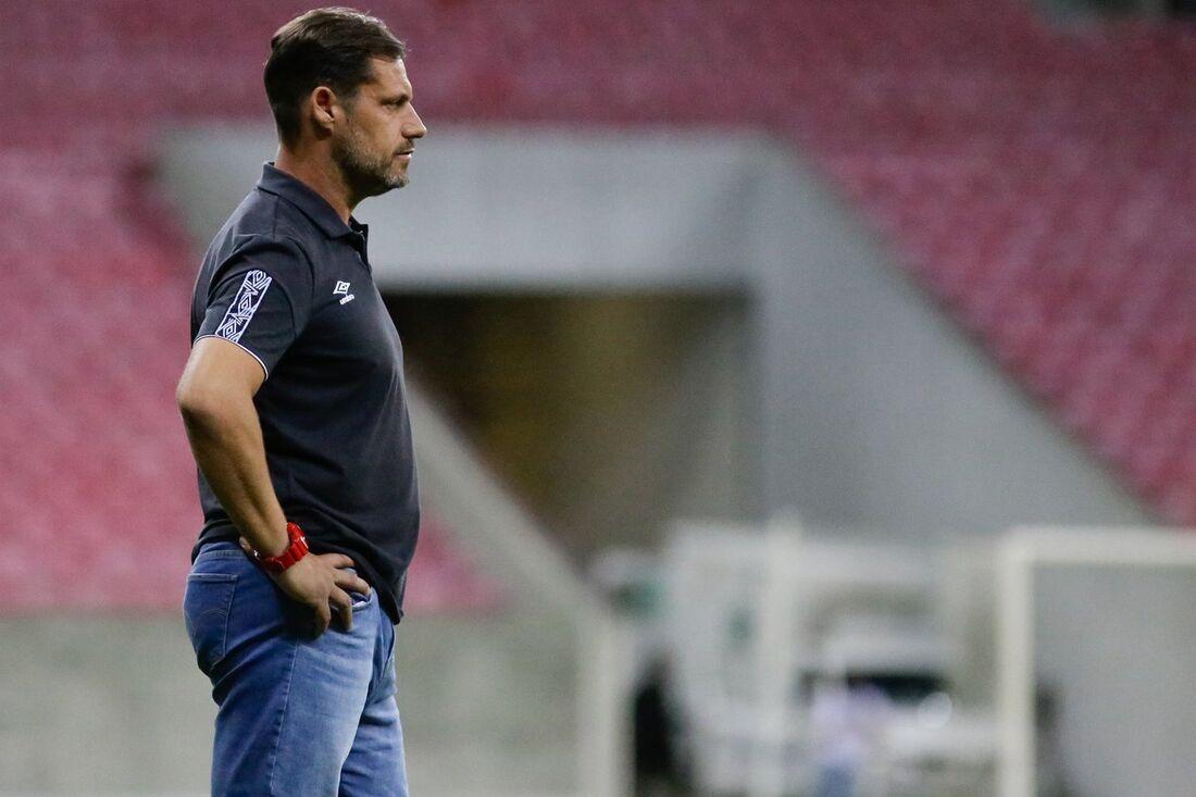 Ricardo Severo, treinador do sub-20 do Leão
