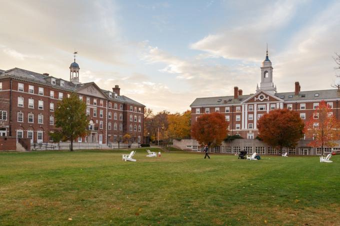Universidade de Harvard, nos Estados Unidos.