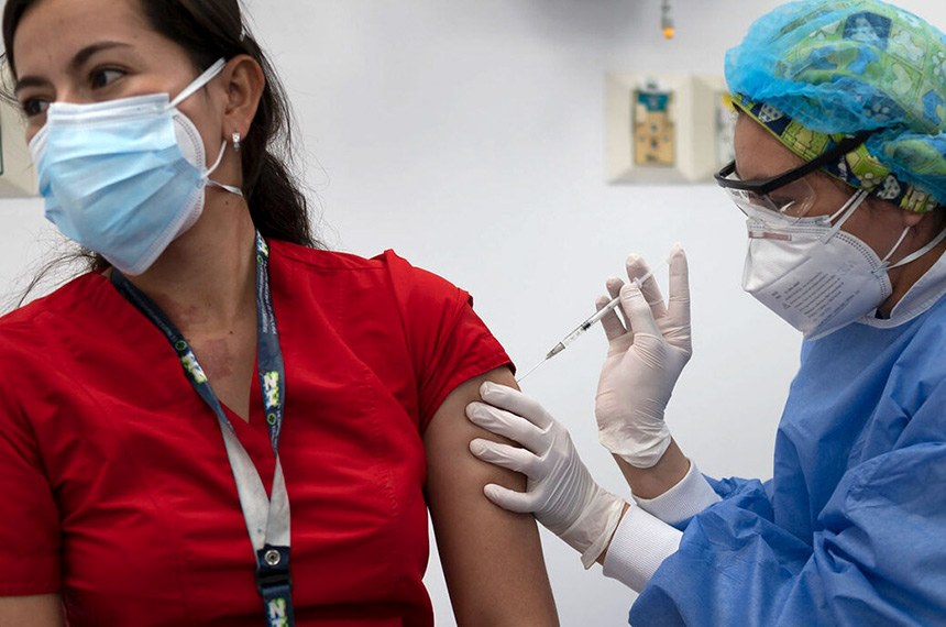 Vacinação na Colômbia