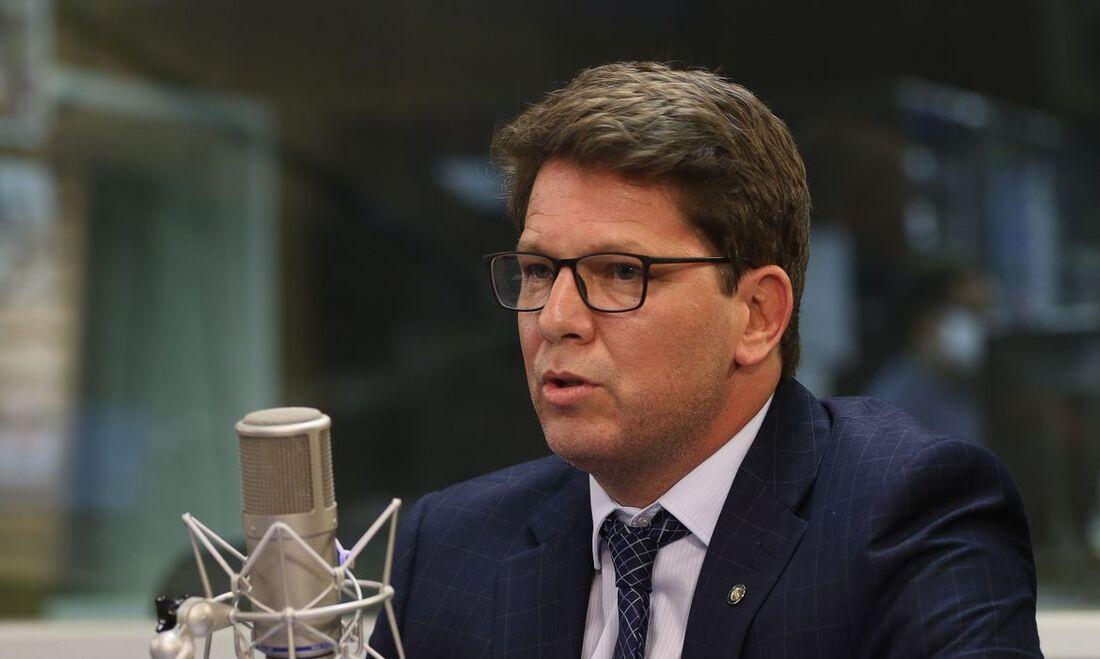 O secretário especial de Cultura, Mário Frias