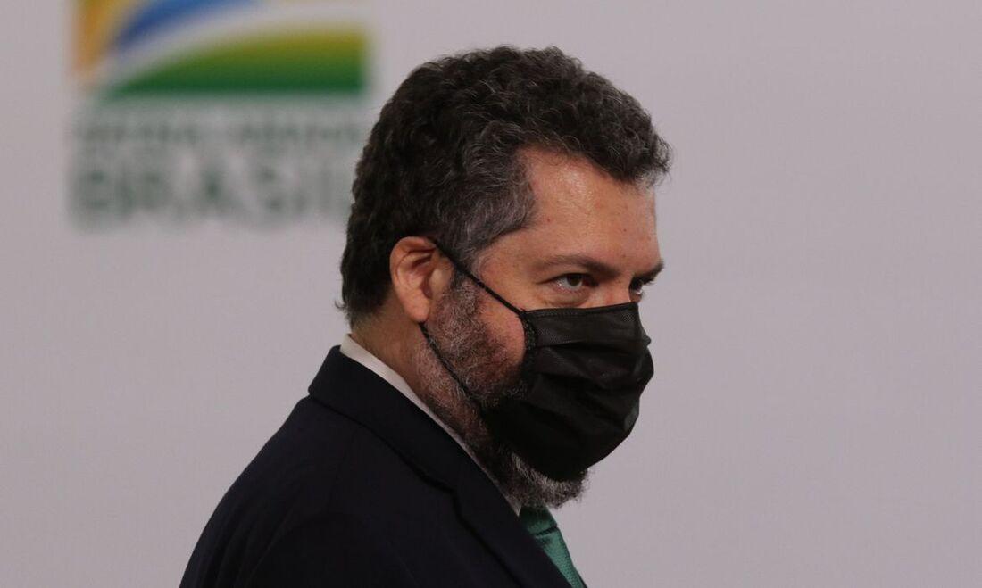Ex-chanceler, Ernesto Araújo