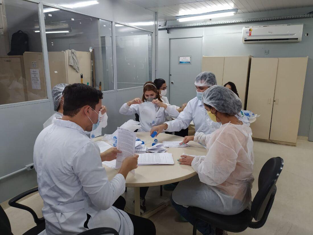 UFPE realiza pesquisa com testes COVID-EXPRESS
