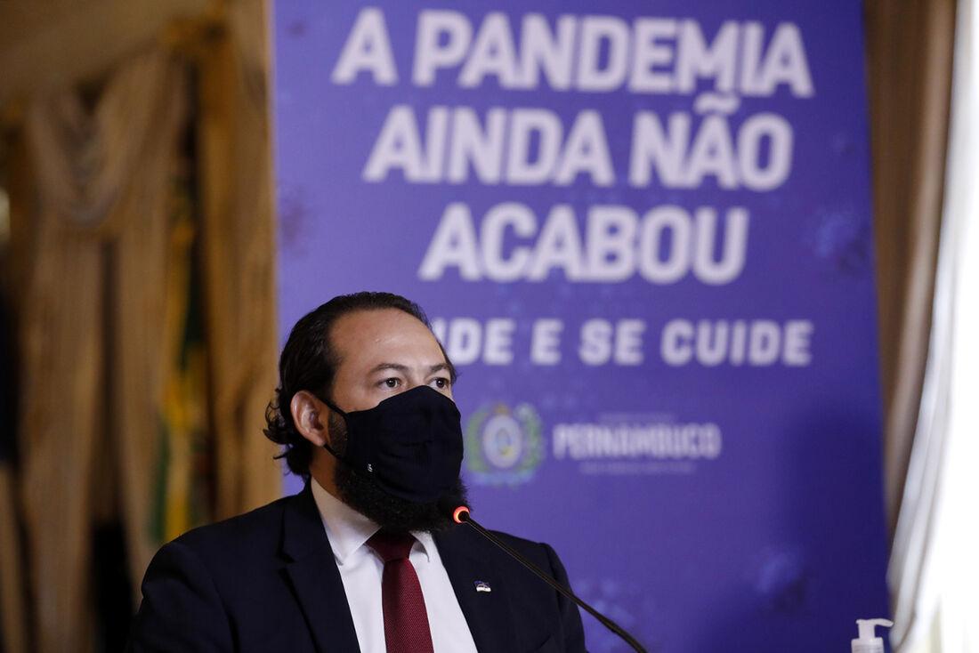 Secretário executivo de Defesa Social, Humberto Freire