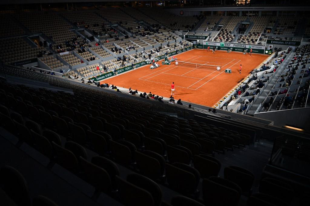 Roland Garros foi adiado por causa da pandemia