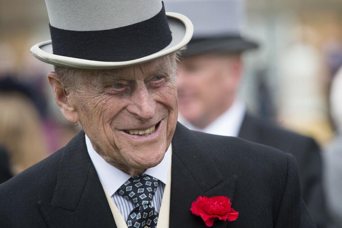 O Principe Philip morreu aos 99 anos