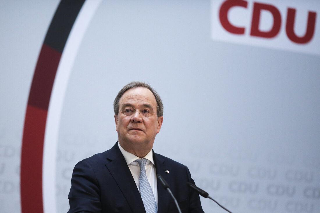 Conservador alemão Armin Laschet