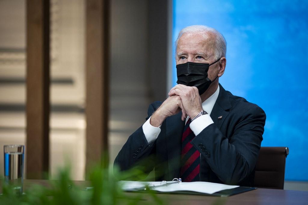Presidente Joe Biden durante Cúpula de Líderes sobre o Clima