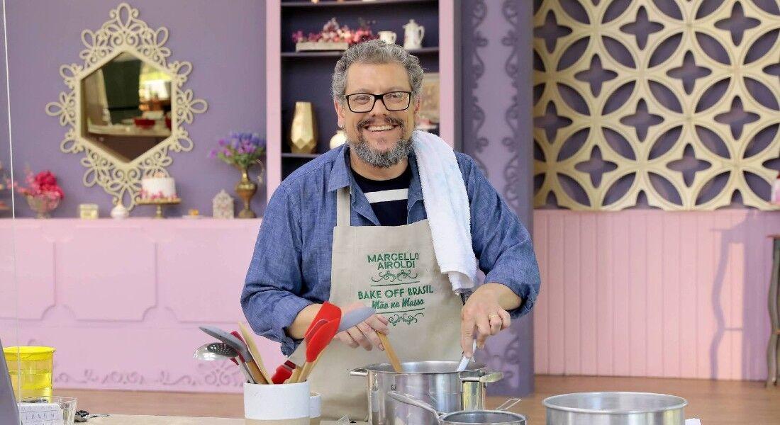 O finalista do Bake Off Brasil - Celebridades Marcello Airoldi