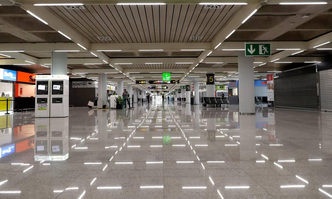 Aeroporto na Espanha
