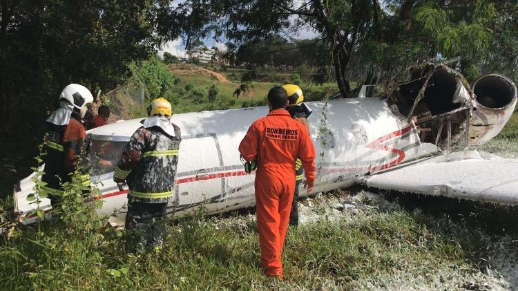 Acidente com aeronave no Aeroporto da Pampulha