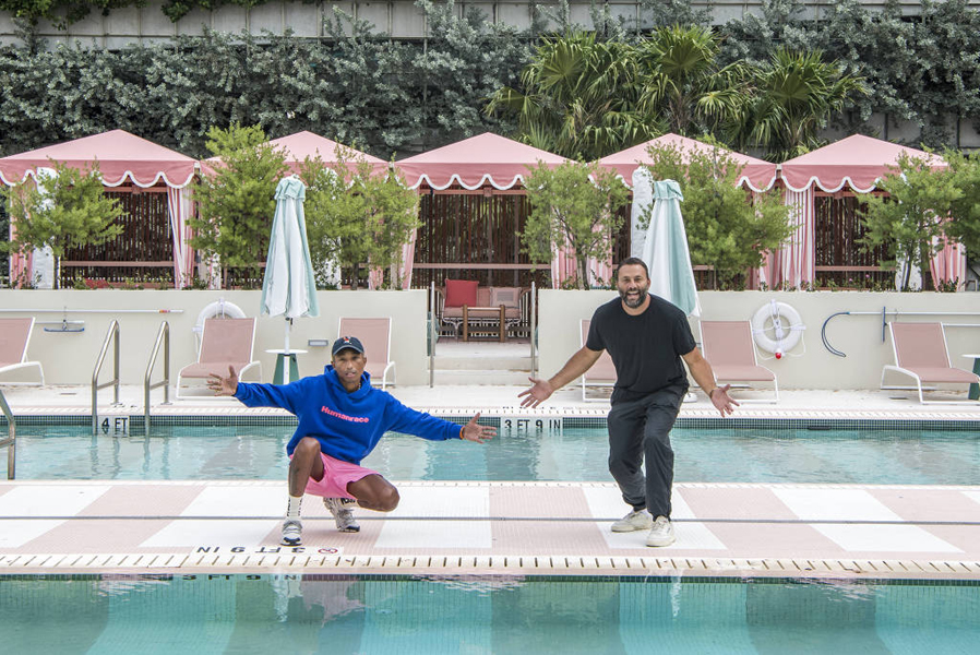 Pharrel Williams e David Grutman inauguram hotel de luxo em Miami