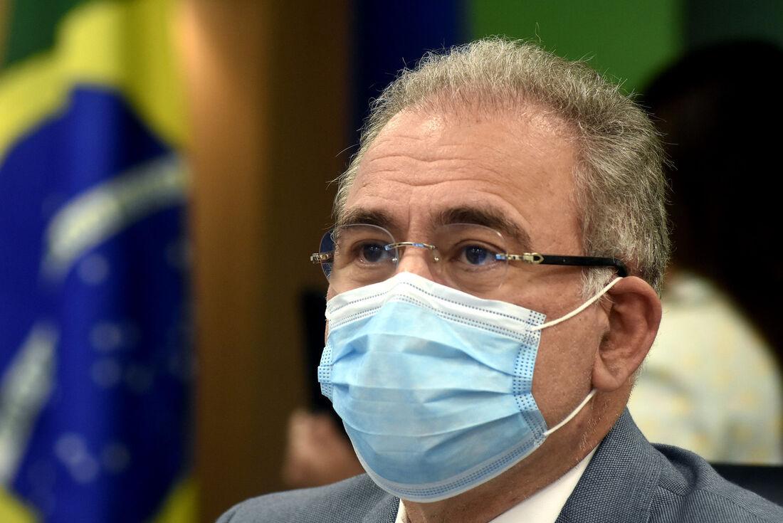 Marcelo Queiroga participa de audiência na Comissão Temporária da Covid-19