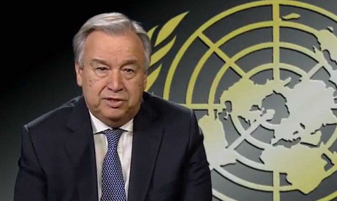 António Guterres, secretário-geral das Nações Unidas (ONU)