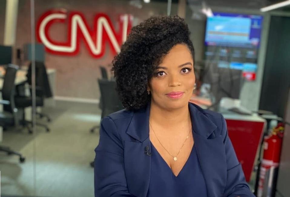 A jornalista Basília Rodrigues, comentarista da CNN Brasil