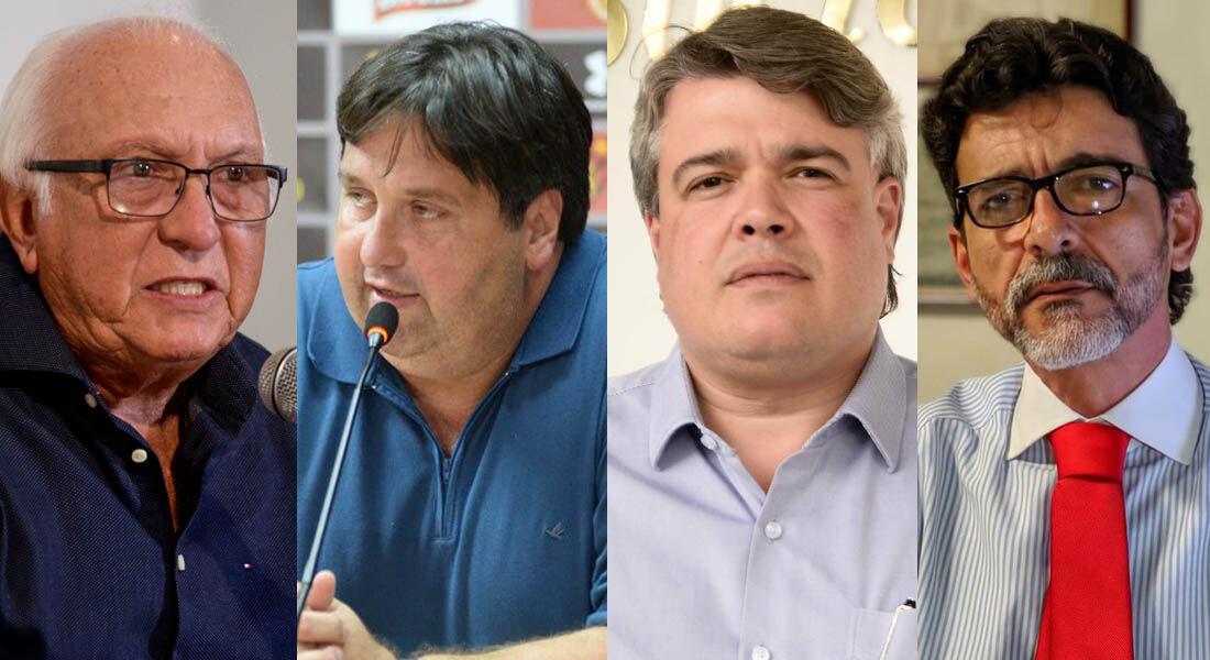 Milton Bivar, Nelo Campos, Delmiro Gouveia e Eduardo Carvalho concorrem à presidência