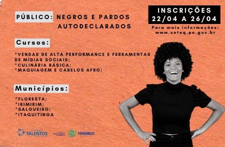 Curso irá qualificar trabalhadores de quatro municípios de Pernambuco
