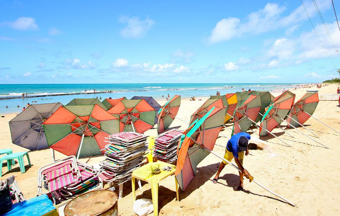 Comércio de praia