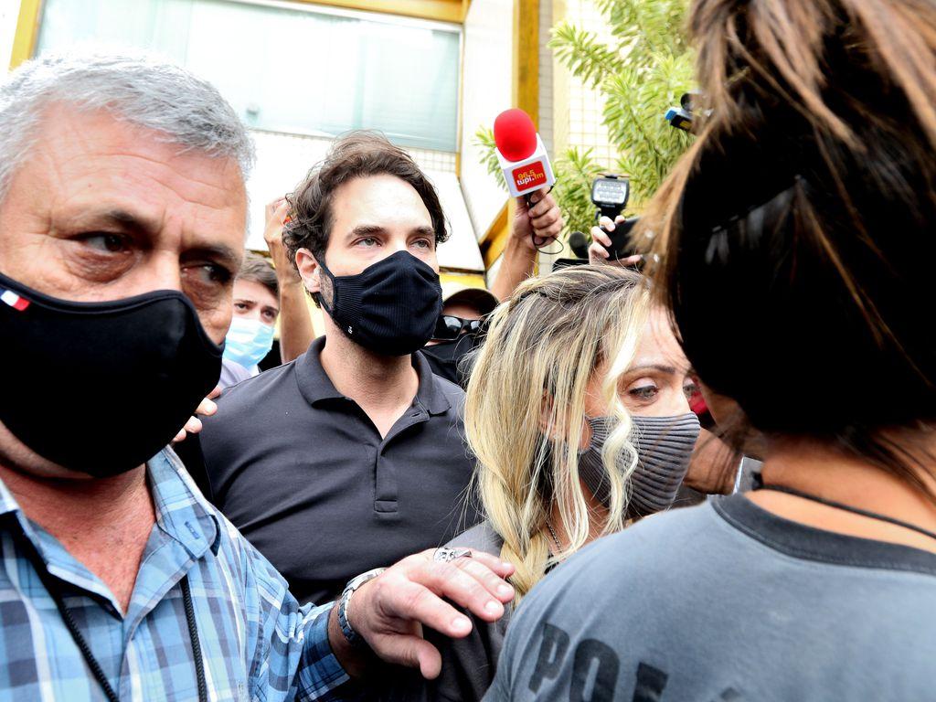 Dr. Jairinho após prestar depoimento sobre a morte do menino Henry Borel de 4 anos