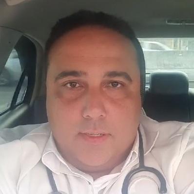 O enfermeiro Anthony Ferrari