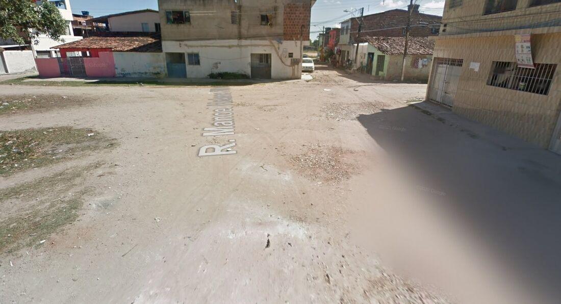 Rua na Iputinga