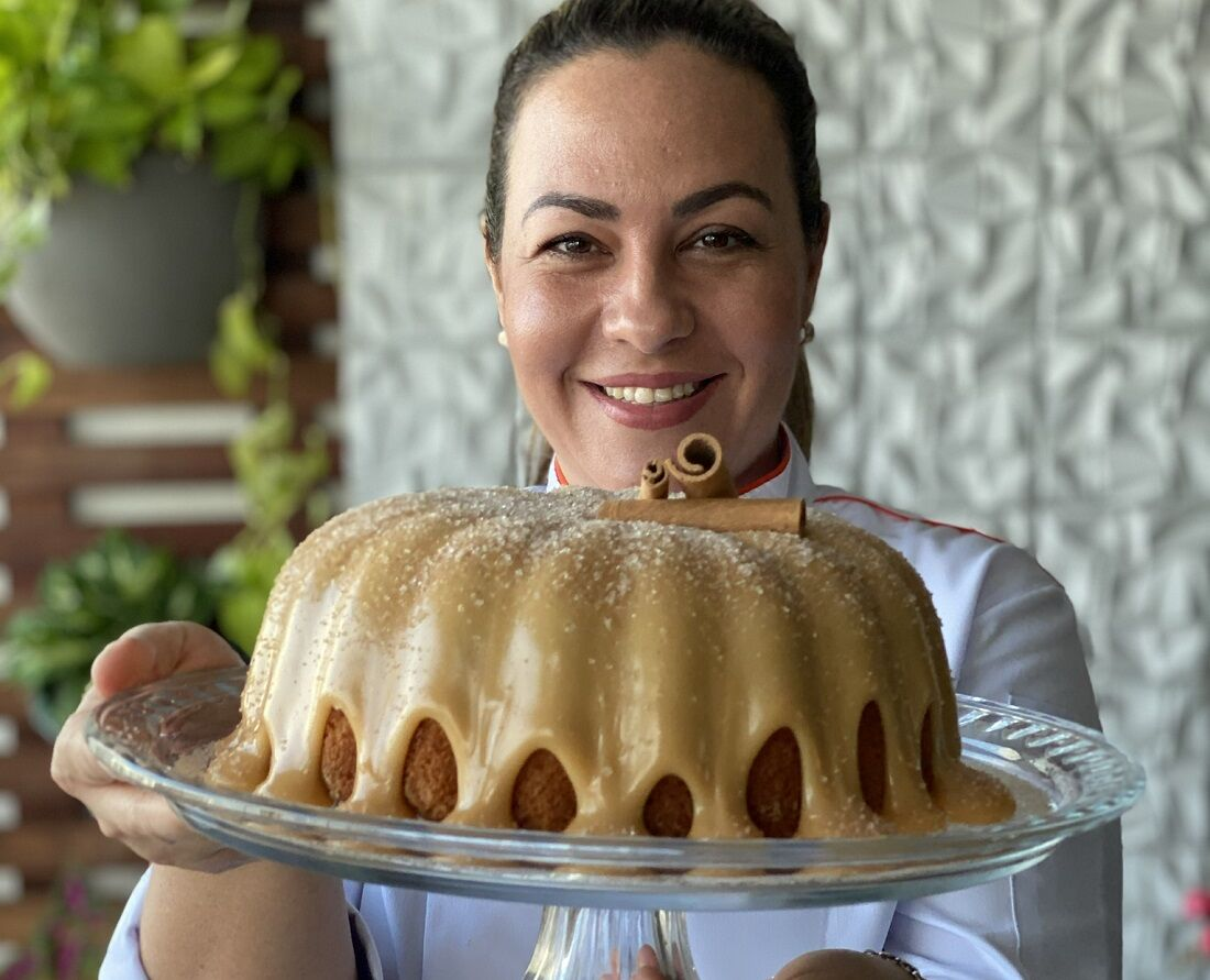 Chef Malu Galvão ministra curso gratuito