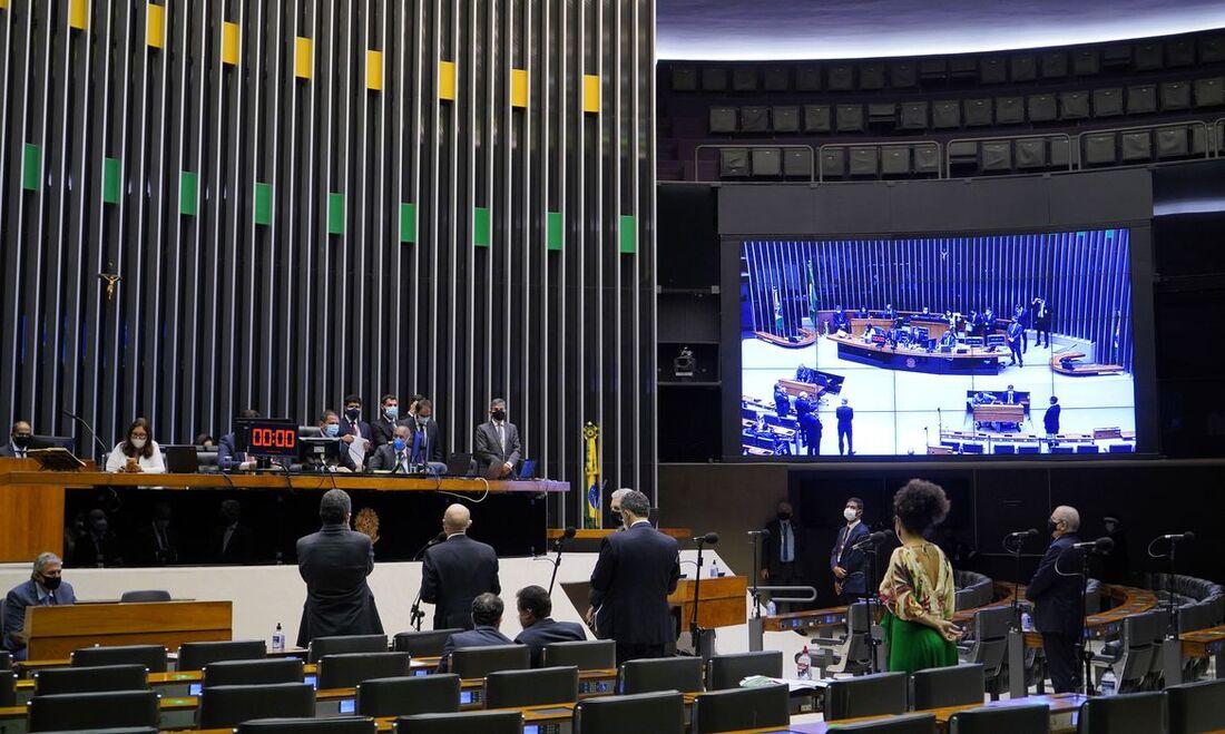 Plenário da Câmara Federal