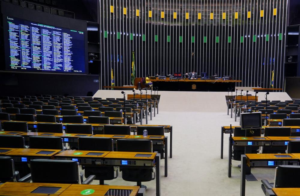 Plenário Câmara Federal