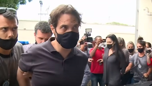 Vereador Dr. Jairinho sendo detido